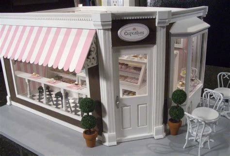 Wholesale Christmas Home Decor cupcake shop 1 stewart dollhouse creations