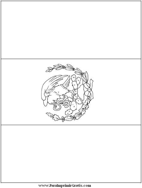 imagenes para colorear bandera de mexico dibujos de banderas para colorear gratis