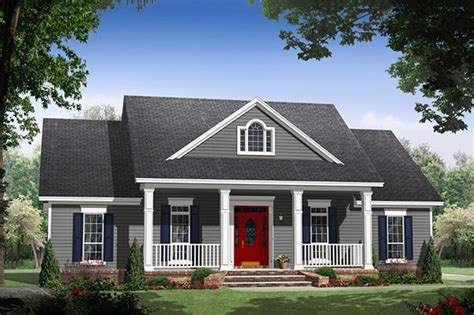 house plans country style country style house plan 3 beds 2 baths 1653 sq ft plan