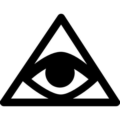 illuminati triangle eye signs pyramid money icons symbol eye illuminati
