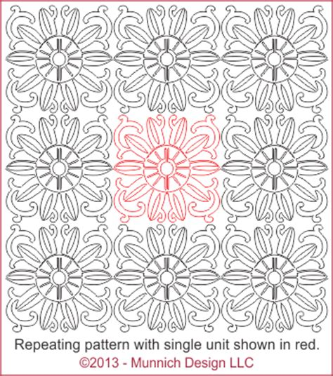 Ore Mohtif munnich design quilt recipes digital quilting pattern browse all patterns