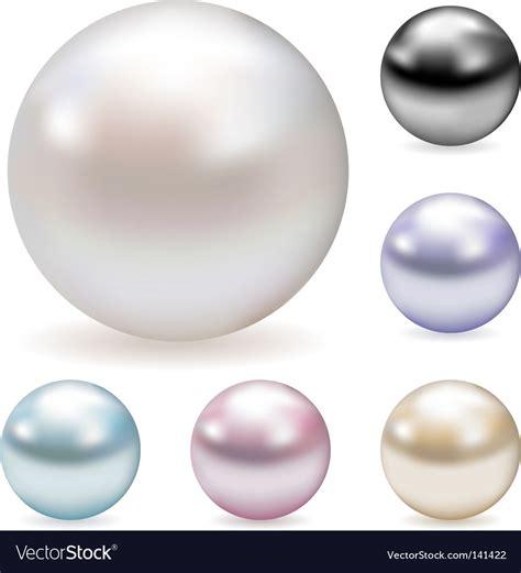 color pearl color pearls royalty free vector image vectorstock