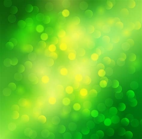 lime green lights green bokeh abstract light background vector free vector