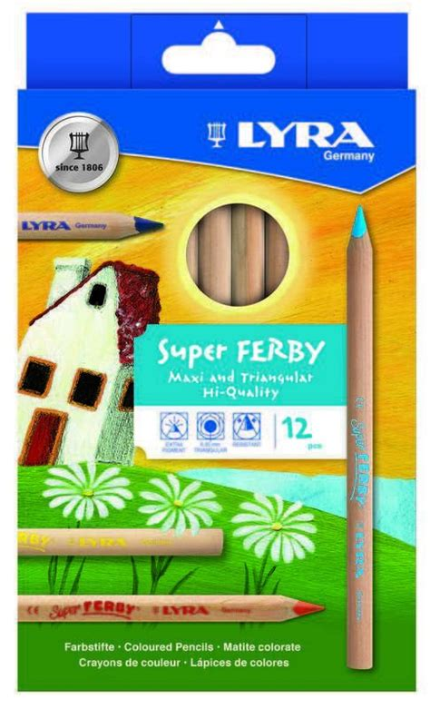 Lyra Ferby Lacquered Color Pencil 36 Colors 3723360 coloured pencil sets
