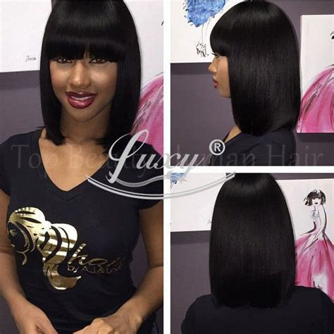 chinese bang wigs for black women 1000 ideas about short bob cuts on pinterest short bob