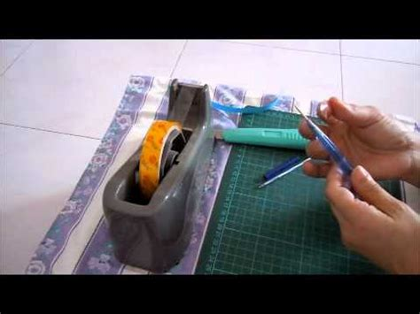 How To Make Your Own Quilling Paper - a quilling tool