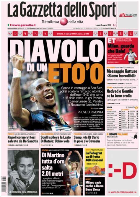la gazzetta dello newspaper la gazzetta dello sport italy newspapers in