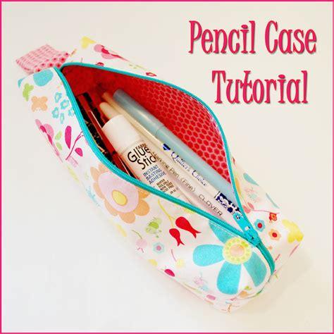 pattern sewing pencil case pencil casetutorial hamels thread
