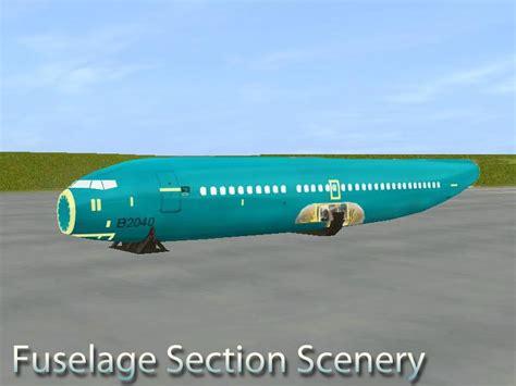 fuselage section fuselage sections ianz trainz