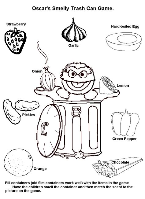 Free Coloring Pages Of Five Senses Worksheet Five Senses Coloring Page