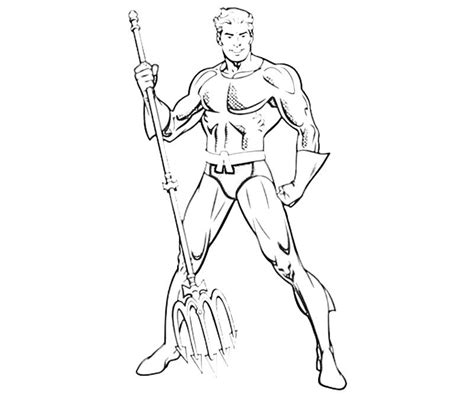 Free Coloring Pages Of Aquaman Dc Coloring Pages Free