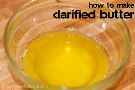 how to clarify butter