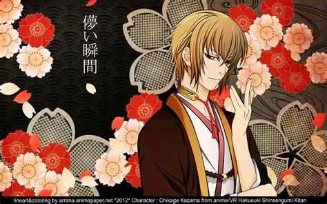 Kimono Boy flowers kimono anime anime boys hakuouki