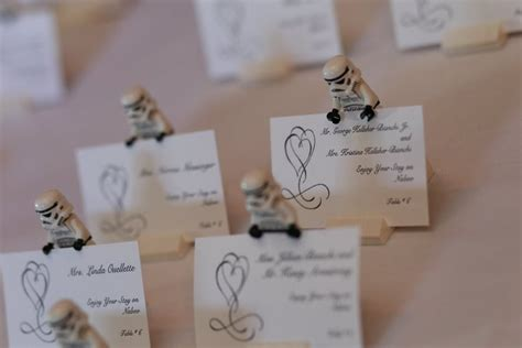 Wars Wedding Place Cards