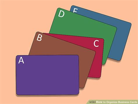 How To Organize Business Cards