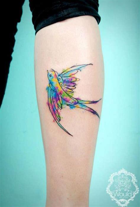 the 25 best bird tattoos bird watercolor www pixshark images