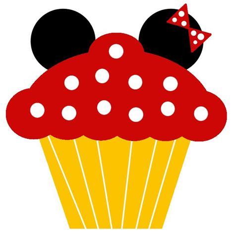 Mini Mickey Sz 2 7 Thn minnie y mickey cupcakes cuaderno para imprimir gratis printables de minnie and mickey