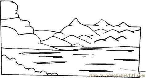 Lake Animal Coloring Pages Coloring Pages Lake Coloring Page