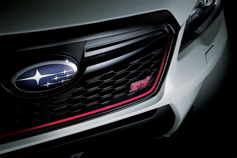 subaru forester grill sti reveals 206kw subaru forsester ts japan only