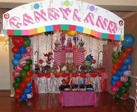 candyland theme decorations unforgettable creations designed by candyland