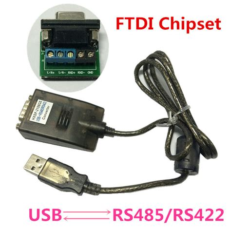 Best Seller Usb2 0 To Serial Rs422 Rs485 Adapter Converter Kabel Ftdi usb 2 0 usb2 0 to rs485 rs422 rs 485 rs 422 db9 serial port device converter adapter cable ftdi