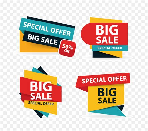 discount flyer template sales poster logo illustration colorful shopping sale