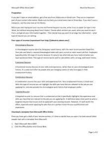 skills resume template word work skills for resume