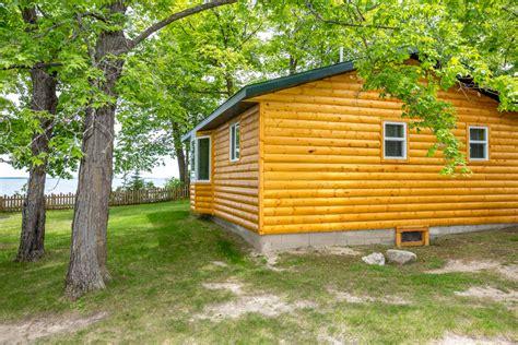 Leech Lake Cabins by Cabin 8 Big Rock Resort Leech Lake Minnesota