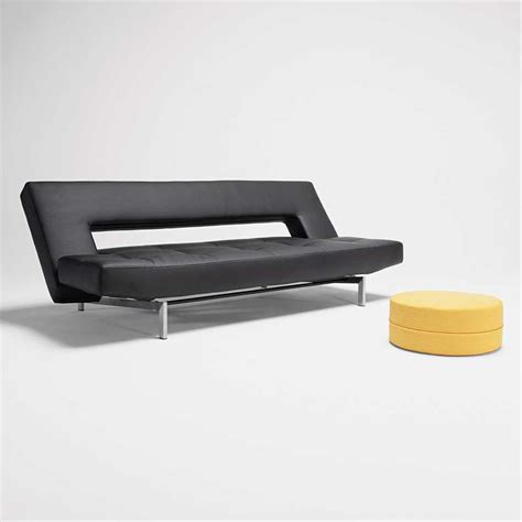 modern futon sofa bed modern leather futon