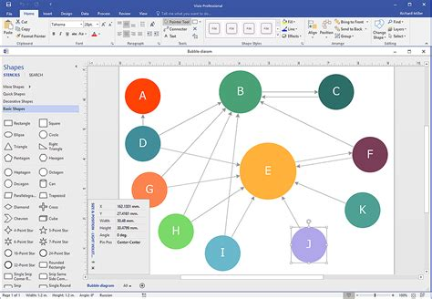 how to draw visio diagram create visio a diagram conceptdraw helpdesk