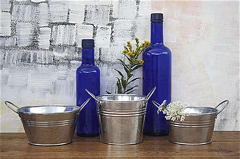 tin buckets for centerpieces centerpiece pails outlet