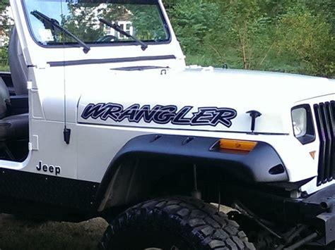 Mj 3 Pc Set product jeep wrangler decals stickers yj tj jk mj