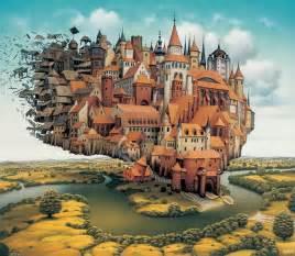 Yerkaland surreal paintings of jacek yerka1 jpg