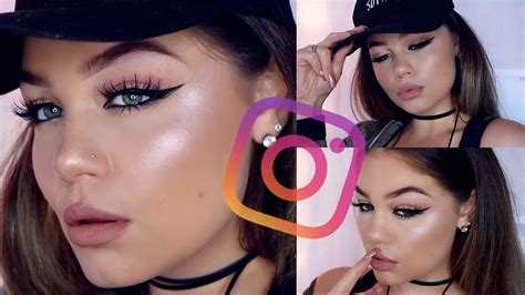 beauty tutorial instagram instagram quot baddie quot makeup tutorial blissfulbrii youtube