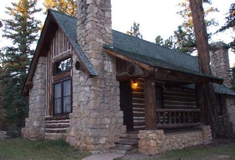 another historic cabin picture of bryce lodge