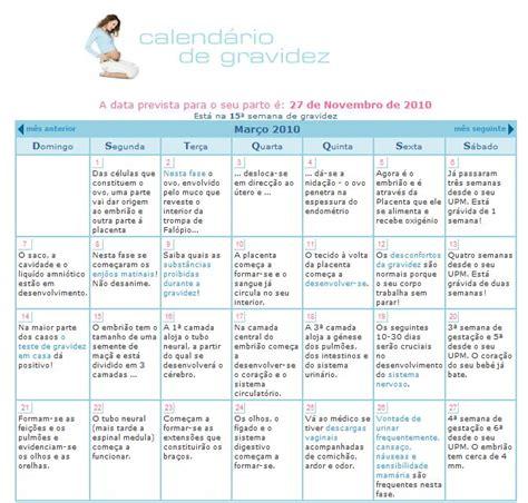 Calendario Gravidez Como Criar Um Calend 193 De Gravidez