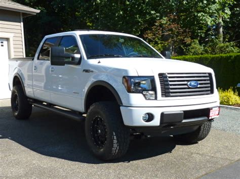 lets see white trucks with black or machined rims ford f150 forum community of ford truck fans