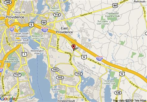 map of knights inn seekonk ma seekonk