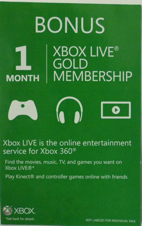 ebay xbox live xbox live gold membership 1 month xbox 360 ebay