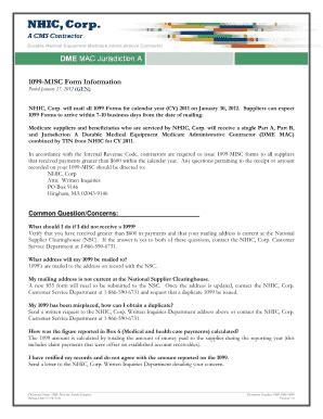 Printable 1099 Misc Form 2012 Pdf