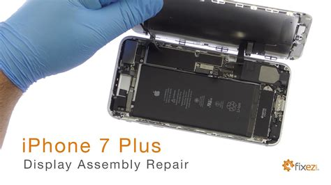 iphone 7 plus display assembly lcd touch screen repair guide fixez