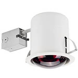 Bathroom Heat L Fixtures Globe Electric 90057 6 Inch Recessed Lighting Kit Bathroom Heat L White Finish Flood Light