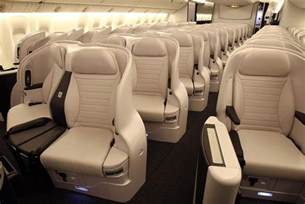 air new zealand premium economy spaceseat up in the air
