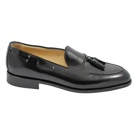 goodyear welted loafers nettleton barrington goodyear welted tassel loafers black