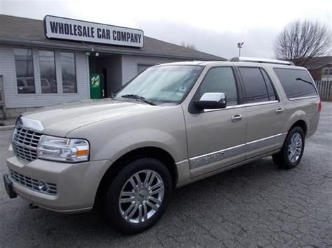 for sale 2007 passenger car lincoln navigator ultimate elite nav dvd moon thx chr clifton find used 2007 lincoln navigator l ultimate elite 4x4 loaded sleek elegance no reserve in
