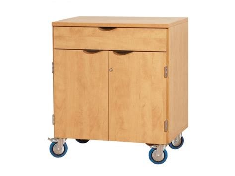 Mobile Storage Cabinet With Doors Mobile Storage Cabinet W Doors 1 Shelf 1 Drawer Lms 351d Mobile Storage Cabinets
