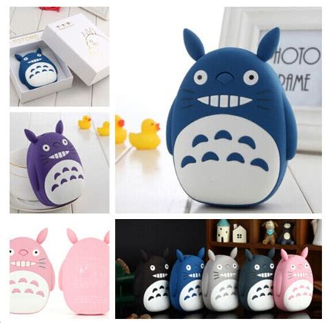 Totoro 12000mah Usb Mobile Charger Power Bank totoro power bank 18650 12000mah portable charger powerbank usb external battery backup