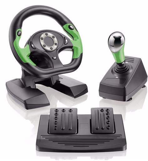 volante pc volante p x360 pc dual shock pedais progressivos novo