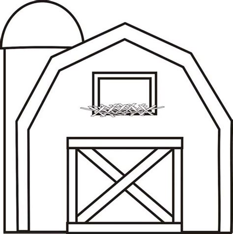barn coloring pages colouring pictures of barn search farm