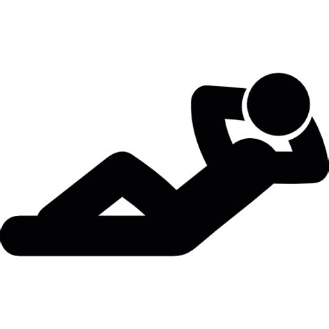 Descansando - Iconos gratis de personas